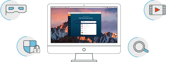 Use internet on Mac devices through Ivacy VPN