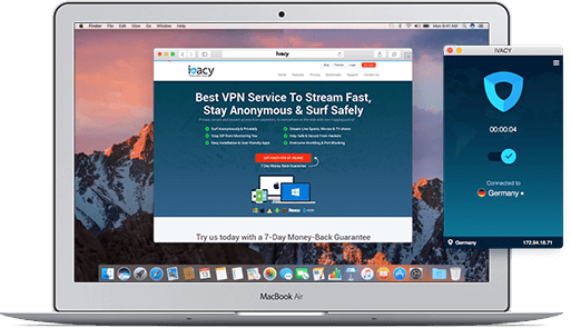 Ivacy risk-free macOS Sierra VPN