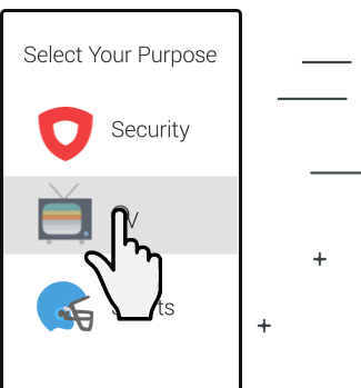 Select your channel with Ivacy VPN
