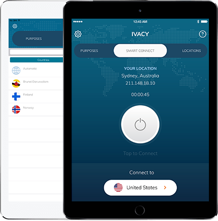 Ivacy VPN for ipad